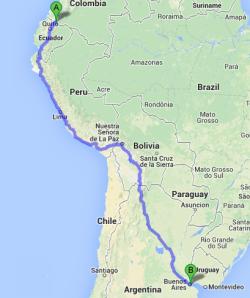 Ecuador to BA