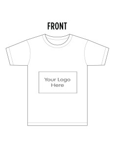 Your logo front T-shirt