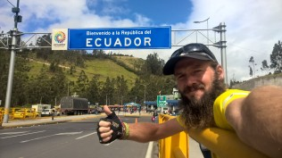 My first day in Ecuador