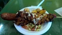 Street food in Machachi