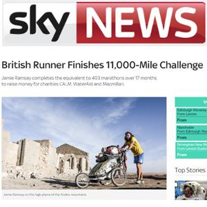 Sky News tile